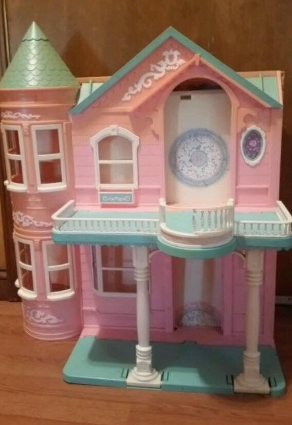 Vintage Barbie Dream House Victorian Mansion By Mattel