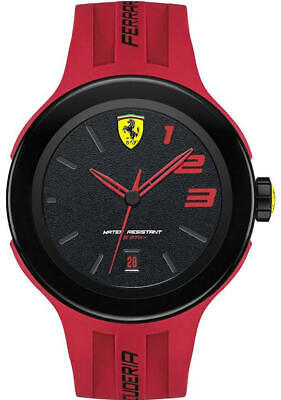 Men's Scuderia Ferrari Red Sports Watch 830220