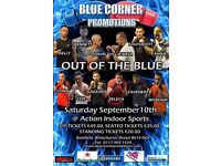 BLUE CORNER BOXING EVENT AT ACTION INDOOR SPORTS WHITCHURCH