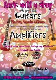 Guitars - Amplifiers & Accessories Brought and Sold