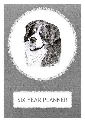 Bernese Mountain Dog Show Judging Planner by Curiosity Crafts 2018-2023