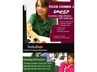 Children Computer Class with technology workshops