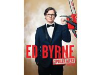 Ed Byrne Spoiler Alert Stand-Up Comedy Tour Ticket Friday 24th November, G Live Guildford