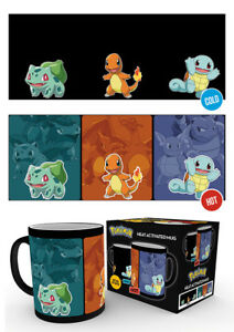 Pokemon Catch Em All Heat Changing Mug