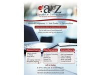 Need an Accountant? Call A to Z Finance Solutions Today on 07912 642236