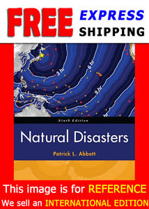 *International Edition* Natural Disasters by Abbott 9E NEW!!