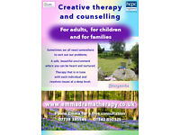 Creative Psychotherapy for adults, adolescents, children and families in a tranquil setting.
