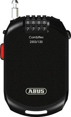 ABUS Combiflex 2503/120 Kabelschloss mit Zahlenkombination 120 cm, Fahrrad