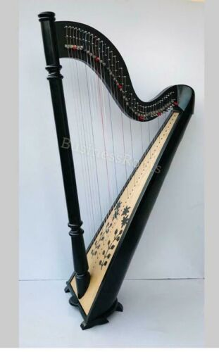 New 38 Strings Harp Beech Wood, Irish lever Harp, Celtic Harp, Folk Harp