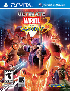 ULTIMATE MARVEL VS CAPCOM 3 PLAYSTATION PS VITA GAME BRAND NEW SEALED