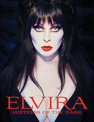 ELVIRA Mistress of the Dark hardcover book Cassandra Peterson SEALED NEW COPY