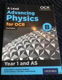 OCR A-Level Advancing Physics 3rd edition