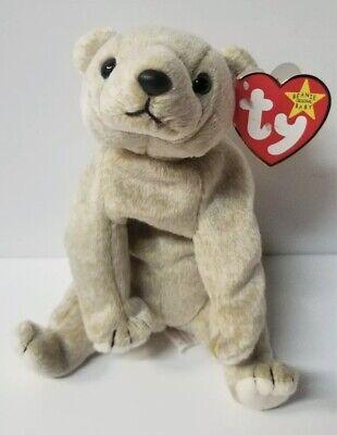 Lot Of 10 X New Ty Beanie Babies Almond Bear MWMT Wholesale Bulk Party - Party Ty