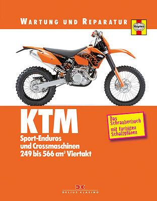 KTM EXC SX SMR 250 400 450 Reparaturanleitung Reparaturbuch Reparatur-Handbuch