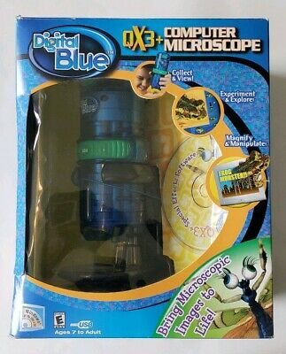 Vintage Digital Blue Qx3 Computer Microscope Bring Microsoft Images To Life