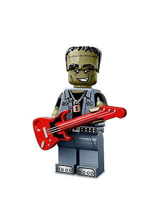 LEGO 71010 Minifigures Serie 14 Monsters - Monster Rocker - CMF Halloween Zombie ()