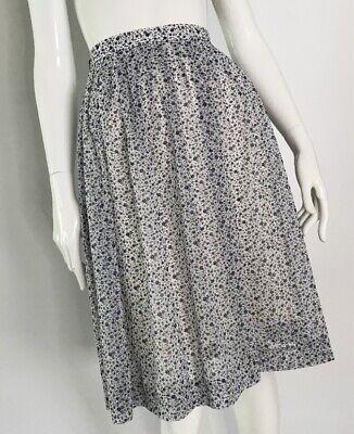 80s Dresses | Casual to Party Dresses Vintage 1980's Floral Skirt $19.33 AT vintagedancer.com