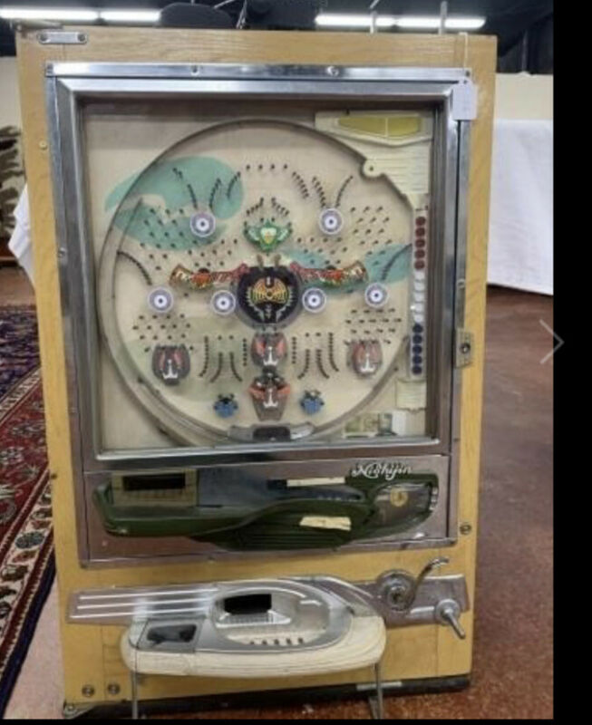Vtg  Nishijin Sofia Pachinko Pinball Machine Shiroi Kamome Super DX Not Tested
