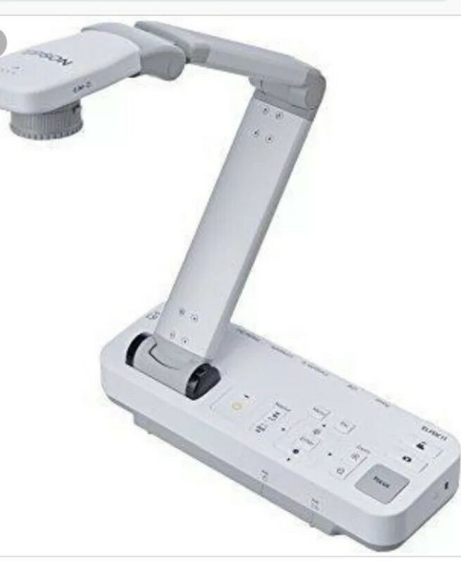 Epson ELPDC11 Portable Visual Presenter USB Document Camera, 5MP 10x Zoom ONLY