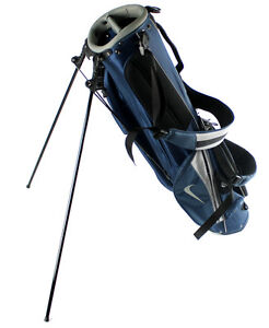 NEW-Nike-Golf-Adult-Sunday-Carry-Stand-Lightweight-Golf-Bag-w-Straps-Blue