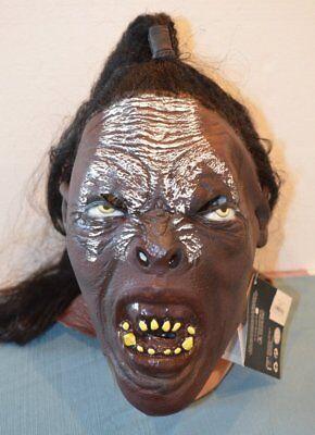 Lord of the Rings Movie Lurtz Full Overhead Mask Urak Hai Orc Adult Costume Tolk (Lord Of The Rings Masks)