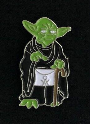 Masonic Master Yoda Lapel Pin (MC-YODA)