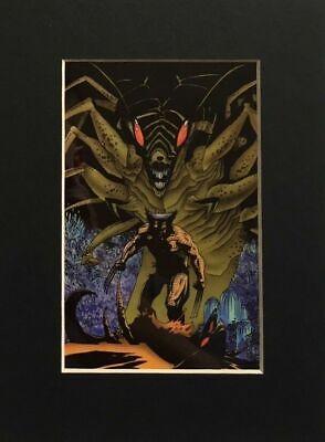 WOLVERINE CEL Matted Print Ltd Ed 500, 2003 LASER MACH X-Men MIKE MIGNOLA