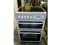Hotpoint ceramic electric cooker very good condition 60cm nice