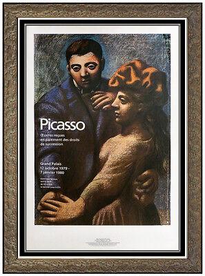 Pablo Picasso La Danse Villageoise Color Lithograph Portrait Authentic Artwork