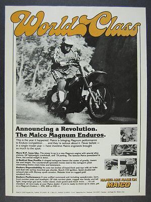 Rare Maico Motocross Endoro Racing Vintage Motorcycle White T-shirt Size S To 5X
