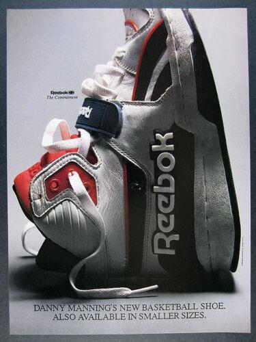 1988 Reebok the Commitment Basketball Shoe photo vintage print Ad