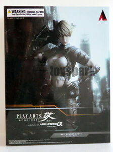 NEW SQUARE ENIX Play Arts Kai Appleseed Alpha DEUNAN KNUTE action figure