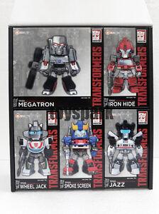KIDS LOGIC Transformers Nations #3 TF03 Megatron Ironhide Jazz 5 LED Figure