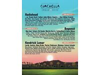 Coachella Weekend 2 GA + Shuttle Pass x 2