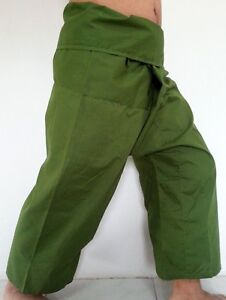 YOGA Thai Fisherman Pants Trouser Long Cotton Wrap For Unisex Free Size