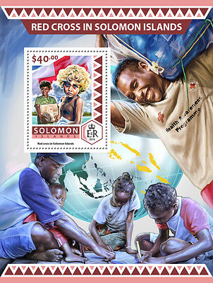 Solomon Islands 2016 MNH Red Cross 1v S/S Medical Health Stamps
