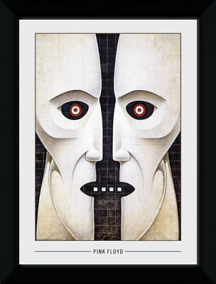 Pink Floyd Mask Music Rock Bands 70/'s Groups 50x70cm Framed Collector Print