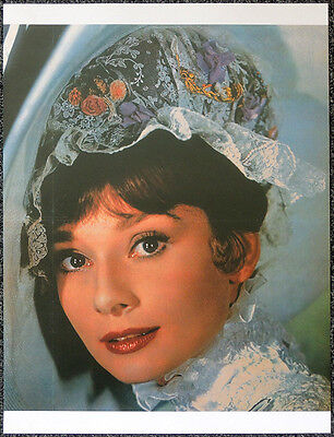 AUDREY HEPBURN FILM MOVIE ACTRESS POSTER PAGE . MY FAIR LADY . S47