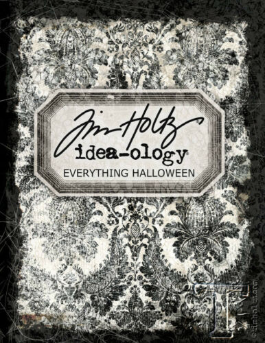 Tim Holtz Collection Everything Halloween from Idea-ology to dies, stamps & more