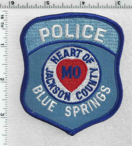 Blue Springs Police (Missouri) 1st Issue Shoulder Patch