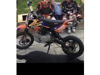 120 Cc stomp bike for sale