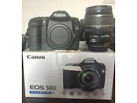 Title: Canon EOS 50D 15.1MP Digital SLR Camera - Black (Kit w/ EF-S IS USM 17-85mm) +++