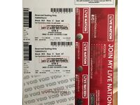 FACE VALUE 2 X BEYONCE TICKETS (MANCHESTER) 13TH JUNE