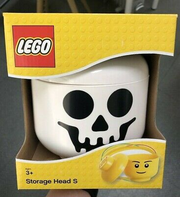 Lego Storage Head Skeleton Brick Container Small](Small Plastic Skeletons)