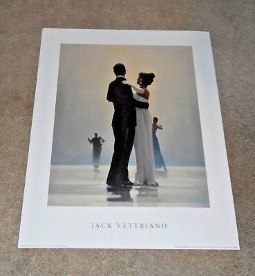 Dance Me To The End of Love Jack Vettriano Love Dancing Art Print 23.5 by (Love Me To The End Of Love)