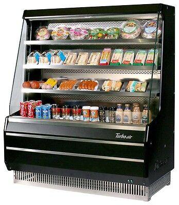 Turbo Air 50 W Open Display Refrigerated Merchandiser Medium Height Tom-50m