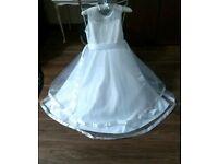 Dress, white occasional dress