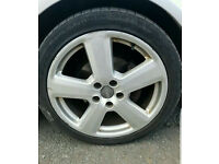 Genuine 18 inch Ronal Alloys with tyres, 8P S Line 2003 to 2008**5 X 112*CHEAP RS4, RS6,AUDI VW**