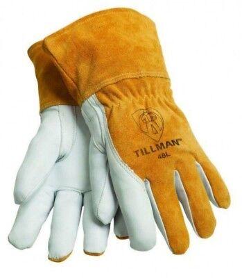 Tillman Mig 48 Welding Gloves Grain Goatskin Split Cowhide Pick Size M L