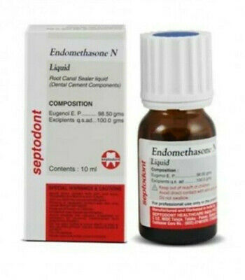 Septodont Endomethasone N Permanent Root Canal Sealer Liquid 10 Ml